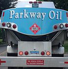 Oil Delivery Truck in Connecticut